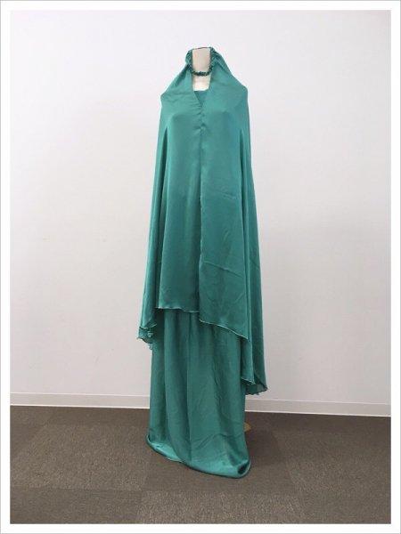 【NEW】〜数量限定〜ブルーグリーンラメ礼拝着ムクナ