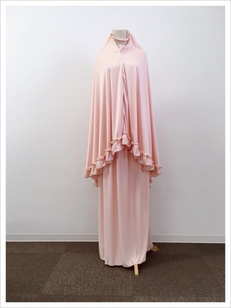 【NEW】ジュニア用ピンクラメ礼拝着ムクナ