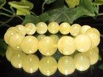 1点物◆琥珀イエローアンバー【バルト海産】12ミリ数珠 IA-12