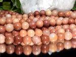 連素材◆天然石ピンクアベンチュリン【砂金水晶】 1連 約40センチ 8ミリ