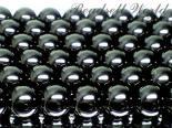 連素材◇ブラックタイガーアイ  4ミリ〜18ミリ約40センチ