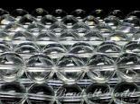 連素材◇溶解水晶(練水晶)【クリスタル】6ミリ〜14ミリ 約40センチ