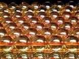 連素材◇ゴールデンオーラ(加工石) 6ミリ〜14ミリ 約40センチ