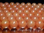 連素材◇オレンジアベンチュリン 6ミリ〜12ミリ 約40センチ