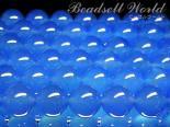 連素材◇ブルーカルセドニー(着色) 6ミリ〜12ミリ 約40センチ