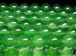連素材◇グリーンカルセドニー(着色) 6ミリ〜12ミリ 約40センチ