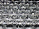 【廃盤】連素材◇128面カット水晶 6ミリ〜20ミリ 約40センチ