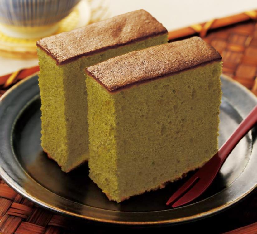 さしまの緑茶カステラ
