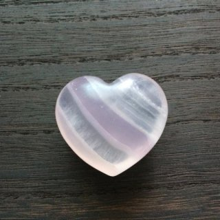 『フローライト ラベンダー Puffy Heart』