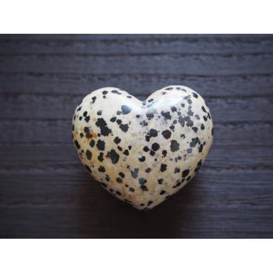『ダルメシアン ストーン Puffy Heart (中)』