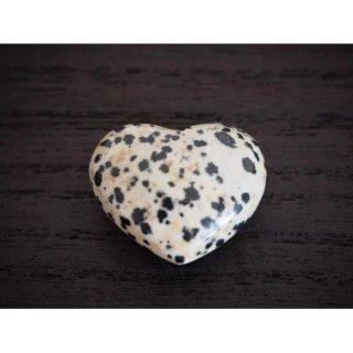 『ダルメシアン ストーン Puffy Heart(小)』