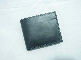 イタリアンレザー二つ折り財布 手縫い 2
