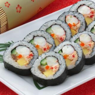 甲羅本店特上かに恵方寿司