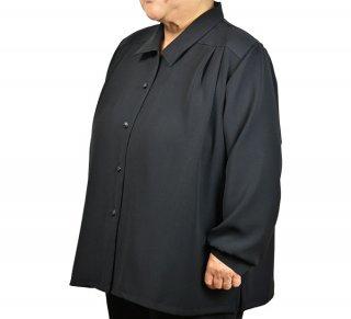 礼装用オーバーブラウス 3L【黒】【ミセス】【フォーマル】【冠婚葬祭】