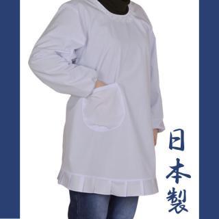 【10枚セット】和装・洋装白割烹着M/L/LL【追加分は1枚あたり1400円】