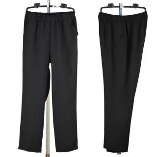 礼装用パンツ【ミセス】【総ゴム】【モンスラ】【シニアファッション】【ブラックフォーマル】