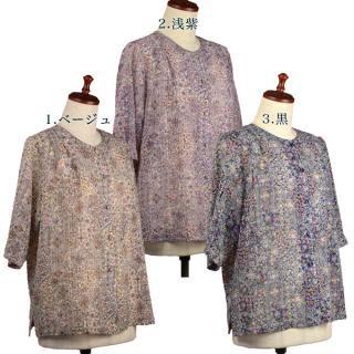 5分袖ジャケットブラウス 50代・60代・70代・80代 シニアファッション