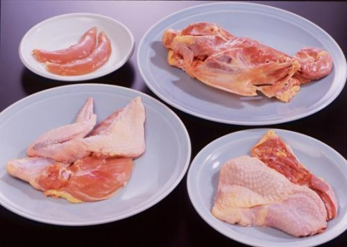 ほろほろ鳥生肉 フレッシュセット 1羽分
