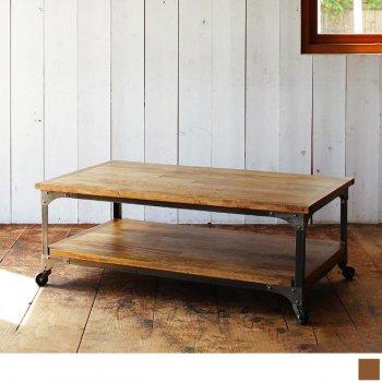 西海岸テイストヴィンテージ家具シリーズRicordoリコルド キャスター付きテーブル|人気の通販店Sotao
