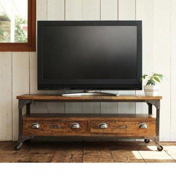 西海岸テイストヴィンテージ家具シリーズRicordoリコルド リビングボード(w120)|人気のテレビ台・AVボード通販店Sotao