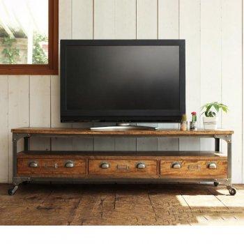 西海岸テイストヴィンテージ家具シリーズRicordoリコルド リビングボード(w150)|人気のテレビ台・AVボード通販店Sotao