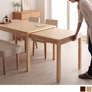 スライド伸縮ダイニングテーブルGrideグライド-伸縮ダイニングテーブル(単品)|人気の通販店Sotao