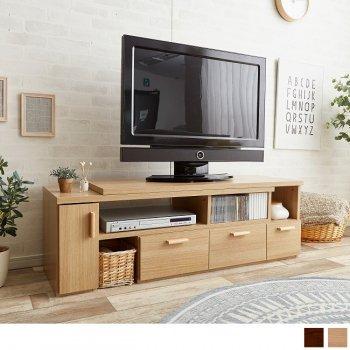 W109〜198cm伸縮型ローボードFalconテレビボード|人気のテレビ台・AVボード通販店Sotao