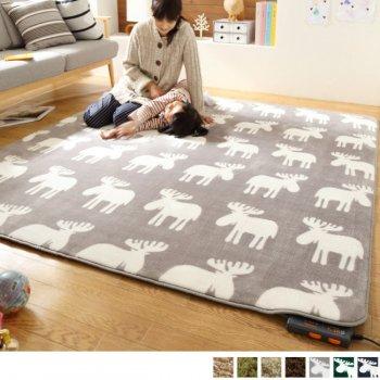 洗えるラグ+ホットカーペット本体セット [3畳サイズ]Mollisモリス_3畳(240x200cm)|人気の通販店Sotao