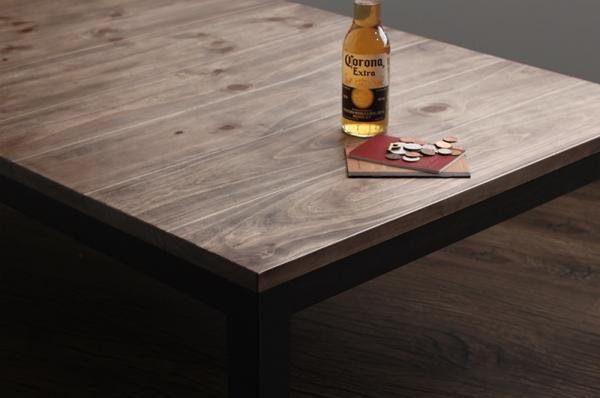 高さ四段階! 古木風ヴィンテージこたつテーブル Imagiwoodイマジウッド 4尺長方形(80×120cm)の画像