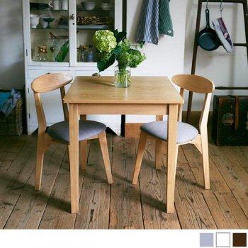 W68cm コンパクトダイニングテーブルセット FAIRBANXフェアバンクス 3点セット(テーブル+チェア2脚) ナチュラル|人気の通販店Sotao
