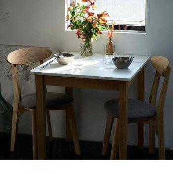 W68cm スクエアサイズのコンパクトダイニングテーブルFAIRBANXフェアバンクス テーブル 天板ホワイト|人気のダイニングテーブル(単品)通販店Sotao
