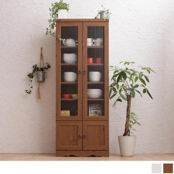 モダンボタニカルキッチン収納シリーズ  Botanical ボタニカル 食器棚 58×150cm|人気のキッチン収納家具通販店Sotao