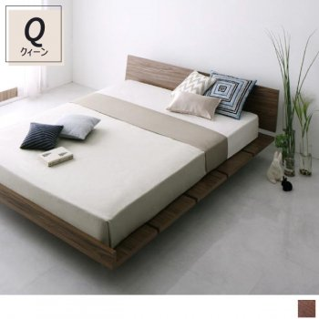 フレーム幅180×Qマットレス モダンデザインローベッドMasterpiece マスターピース180Q|人気の(Q)クィーンベッド通販店Sotao