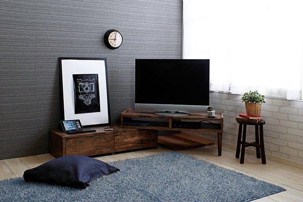 TVボード 伸縮回転スライド式 CRACKクラックの画像