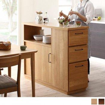 間仕切りキッチンカウンター 両面から収納できるCafeterie カフェテリエ|Sotao