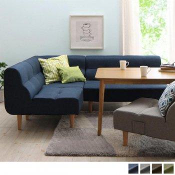 こたつもソファも高さ調節できるリビングダイニングセットpuits ピュエ +1Pソファ 5点セット |人気の通販店Sotao