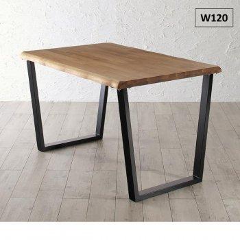 天然木オーク無垢材モダンデザインダイニングSeattle シアトル ダイニングテーブル W120|人気のダイニングテーブル(単品)通販店Sotao