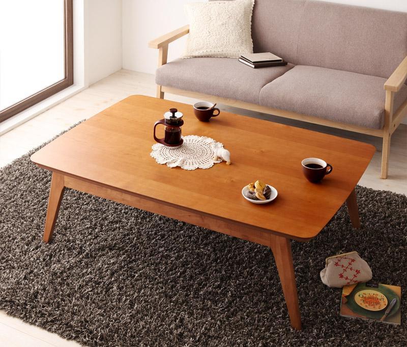 北欧デザインこたつテーブルMilkkiミルッキの画像