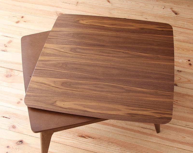 北欧デザインこたつテーブルLumikkiルミッキの画像