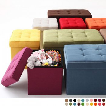 20色から選べる、折りたたみ式収納スツールTRUNKトランク|人気の通販店Sotao