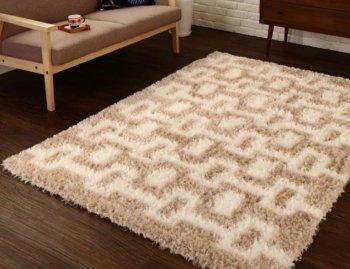 モダンデザインウィルトン織りボリュームシャギーラグCadaカーダ|人気の通販店Sotao