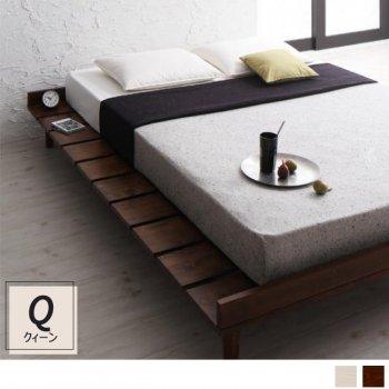 北欧デザインすのこベッドクィーンベッドフレーム Restyリスティー|人気の(Q)クィーンベッド通販店Sotao