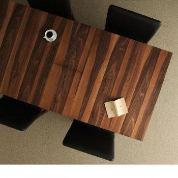 天然木ウォールナット伸縮式ダイニングSharbatシャルバート/ダイニングテーブル単品(W150)|人気のダイニングテーブル(単品)通販店Sotao