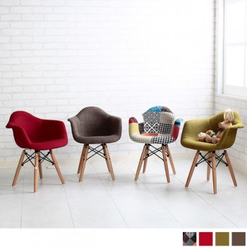【Eames Shell Char-for KIDS】イームズ シェルチェア(キッズ・ファブリック)