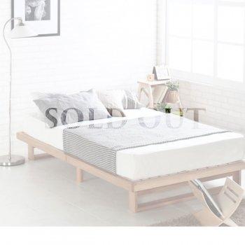 北欧スタイルベッド 組合せパーツでアレンジOK 全2色セミダブルベッドSunokoスノコ|人気の(SD)セミダブルベッド通販店Sotao