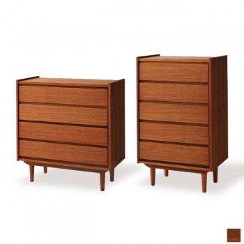 北欧アンティーク家具シリーズ 美しい木目のチーク材家具amuletアミュレット[チェスト]|人気の通販店Sotao