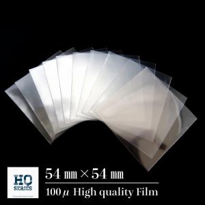 【54mm×54mm】最高級スリーブ(50枚セット)