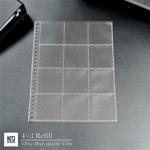 【4×3】最高級12ポケットリフィル(10枚セット)