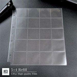 【5×4】最高級20ポケットリフィル(10枚セット)