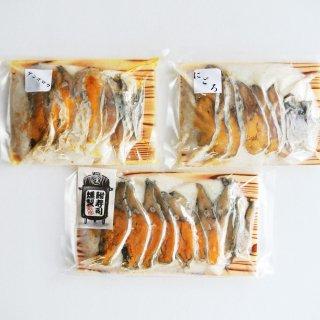 【お得!】琵琶湖産の天然子持ちにごろ鮒、琵琶湖産の天然子持ちげんごろう鮒、香ばしい鮒寿司薫製を食べ比べできるセット